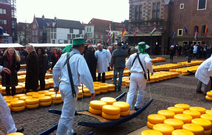 Descobrint Alkmaar i el mercat del formatge